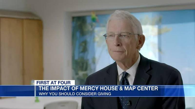 Duncan McRae talks about Mercy House impact
