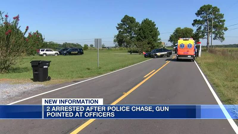 Arrests made following multi-county police chase