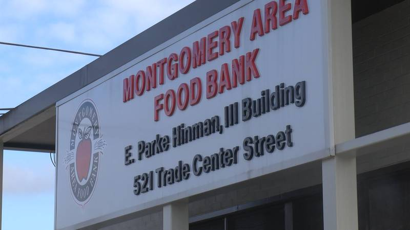 The Montgomery Area Food Bank feeds families across Alabama.