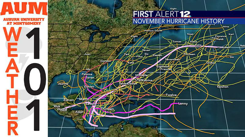Weather 101: What does history tell us about November hurricanes?