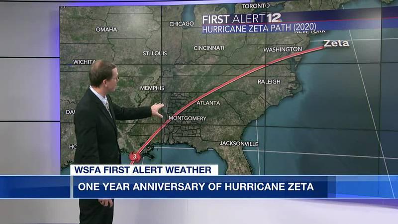 1 year anniversary of Hurricane Zeta