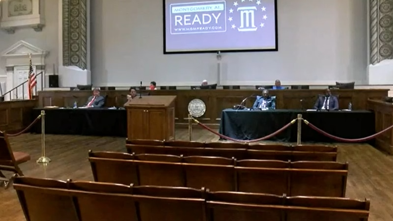 Montgomery City Council meeting - Tuesday, May 19, 2020.