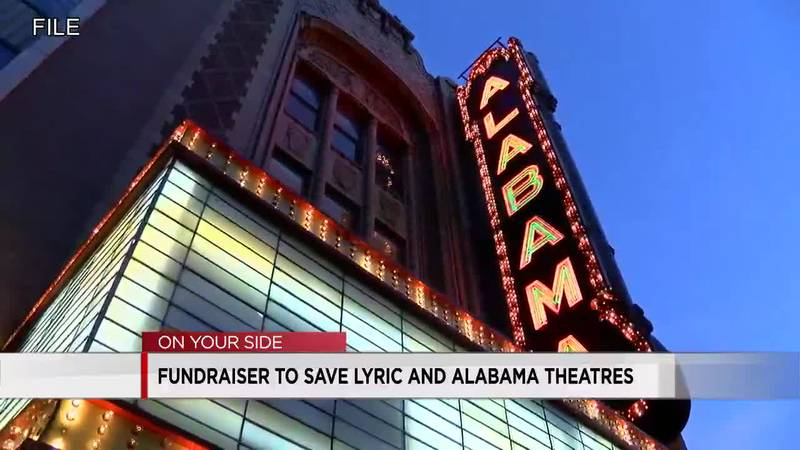 Fundraiser to save Lyric and Alabama theatres