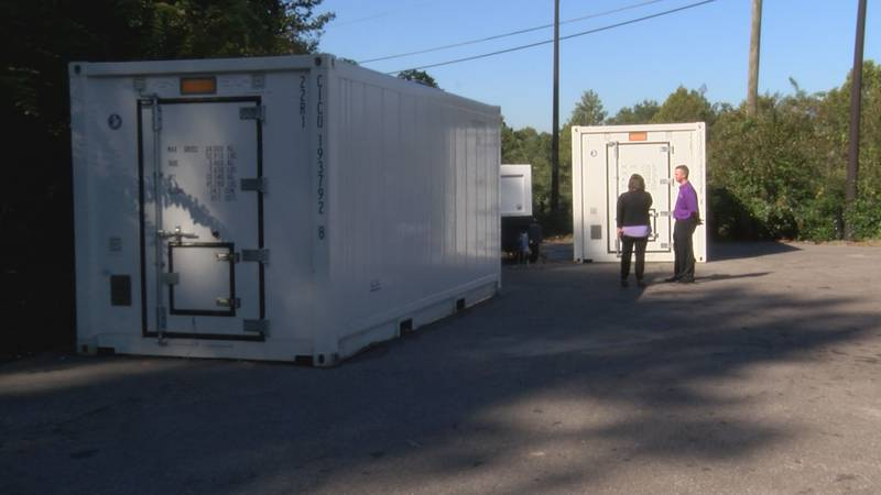 TRANE Technologies has sold two super freezers to the Elmore County School system to help...