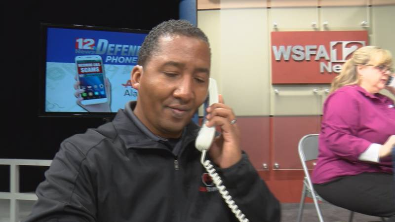 238 people called the WSFA 12 News Defenders phone bank on Tuesday to ask questions about scams.