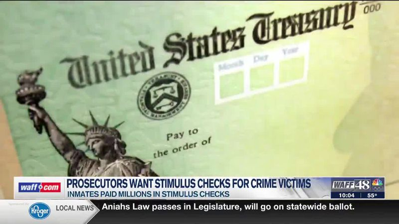 Prosecutors want stimulus check for crime victims